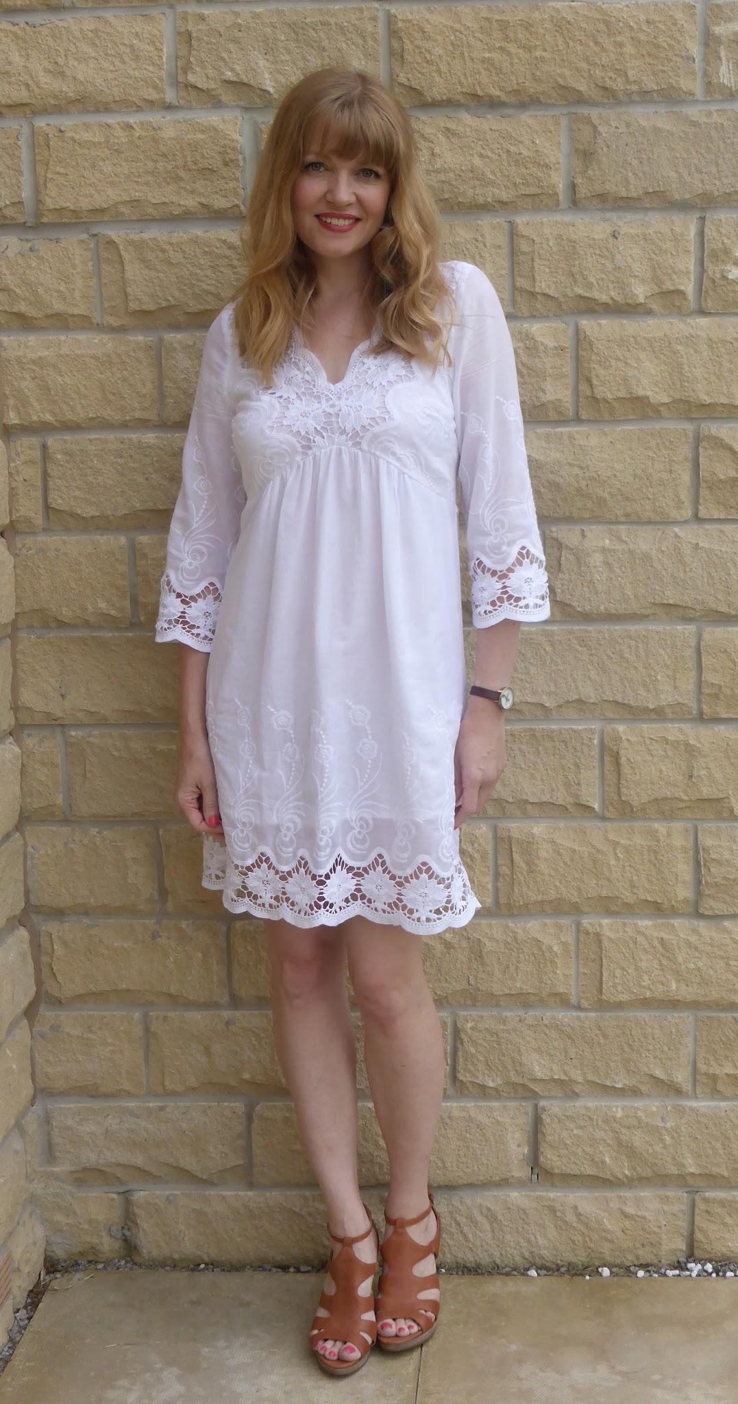 High Heels For White Dress