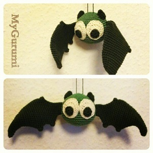 Free Amigurumi Patterns Halloween : 2000 Free Amigurumi Patterns: Bert Bat Amigurumi Crochet ...