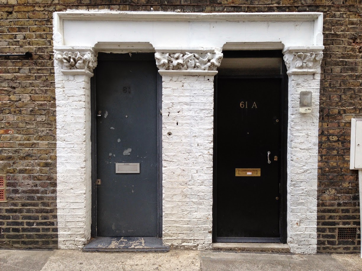 Doors, Shirland Mews, London