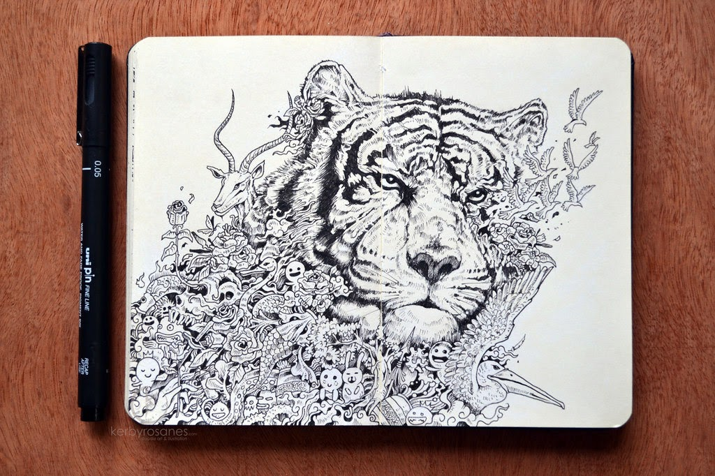 06-White-Tiger-Sketchy-Stories- Kerby-Rosanes-www-designstack-co