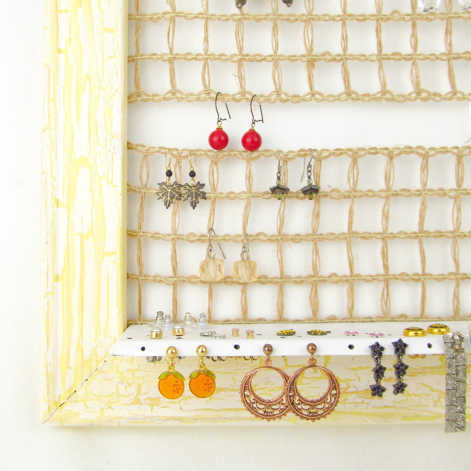Rise and Shine: Wall Hanging Jewelry Holder