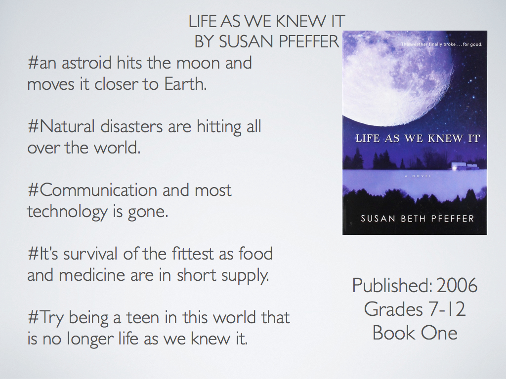 life as we knew it by