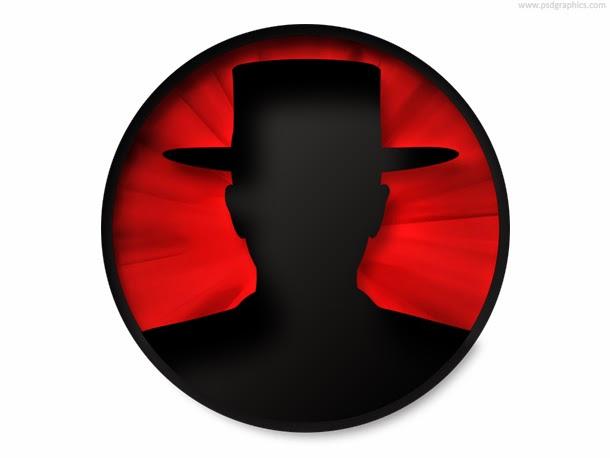 Identity Theft Icon PSD