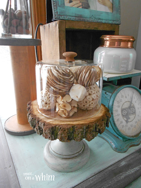 Thrift Store Find and Bowl FIllers Turned Pretty Cloche | Denise on a Whim