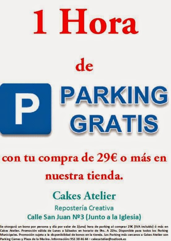 Parkin Gratis para Clientes