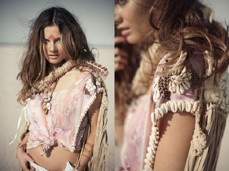 Spell & The Gypsy Collective, Australian label, Australian designer, gypsy, bohemian, raw, style, fringing, shells