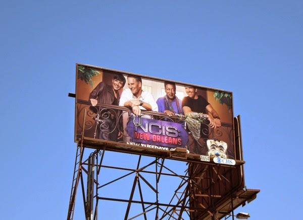 NCIS: New Orleans series premiere billboard
