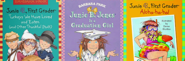 http://www.amazon.com/Junie-B-First-Grader-Aloha-ha-ha/dp/0375834044/ref=sr_1_30?ie=UTF8&qid=1384812500&sr=8-30&keywords=junie+b.+jones