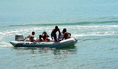 Playas de Necochea. Prefectura Naval Argentina