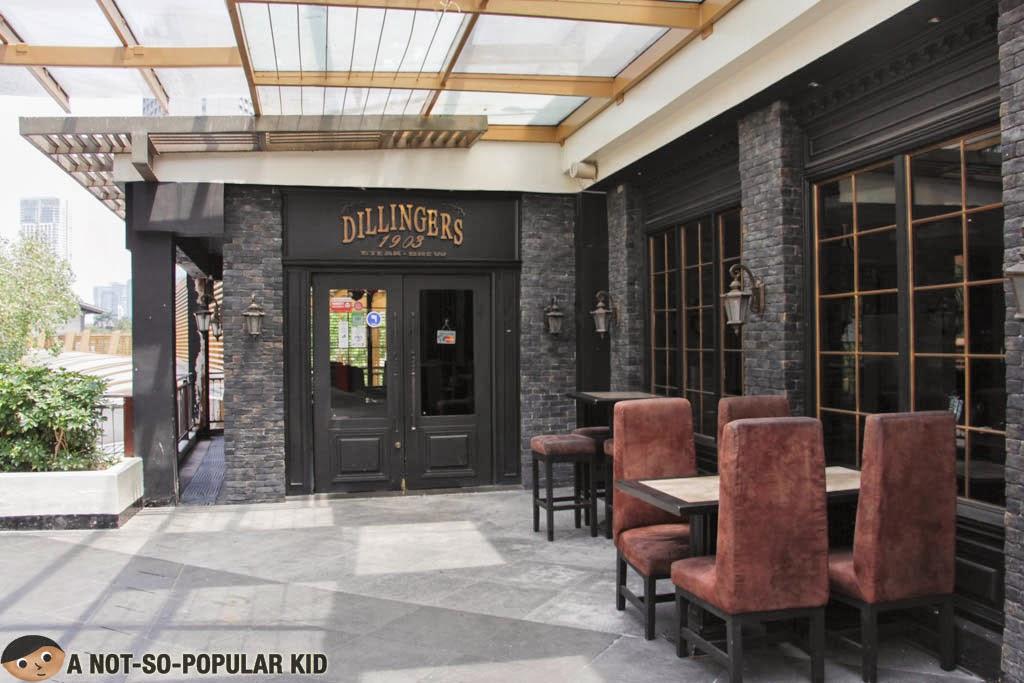 Dillingers 1903 in Greenbelt 3, Makati