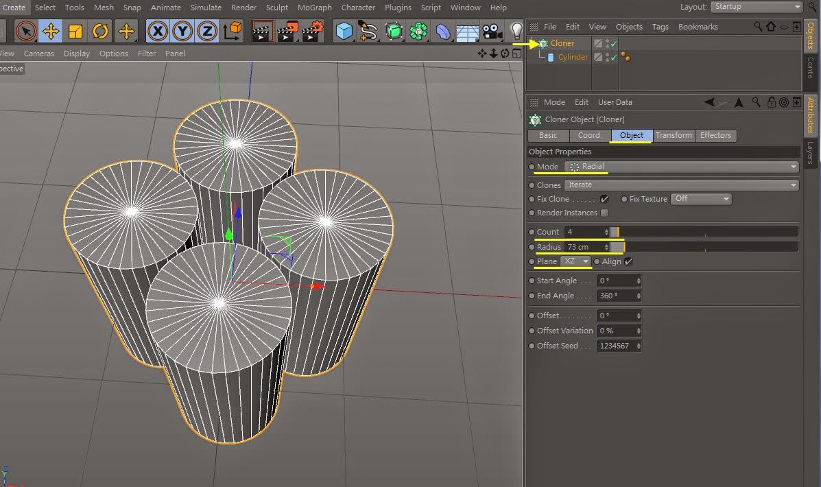 Fiber modeling inC4D 03