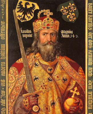 Carlos Magno, venerado como Beato em dioceses da Europa