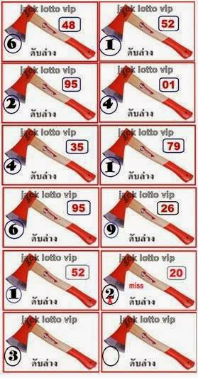 Thai Lotto Down Cut Digit 01-06-2014