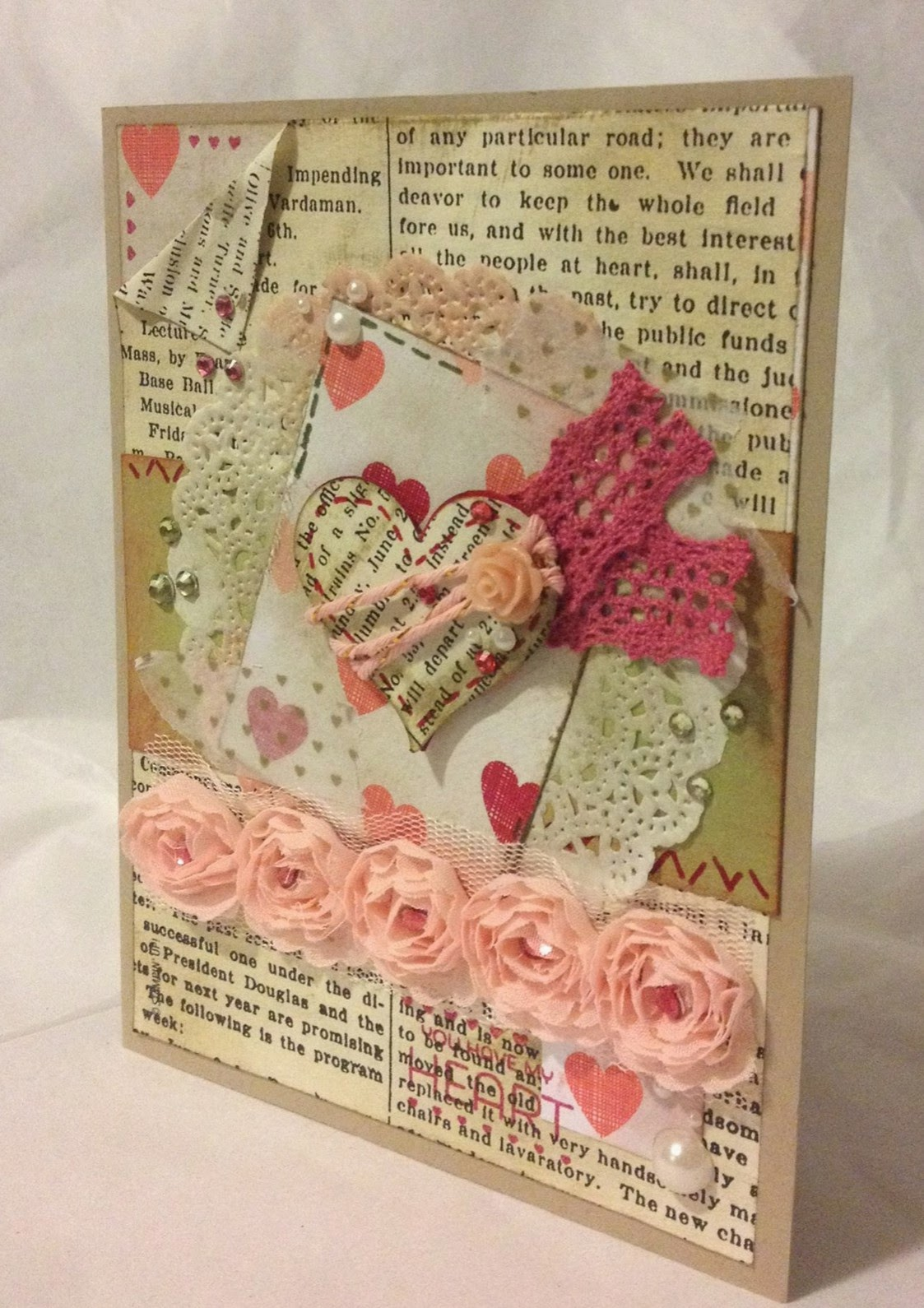 MidnightCrafting Vintage Artisan Embellishments StampinUp Stacked with Love