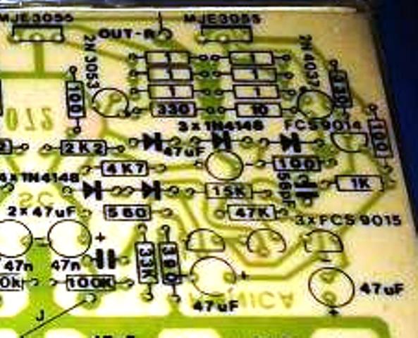 Power Amplifier 150 Watt - Modif.
