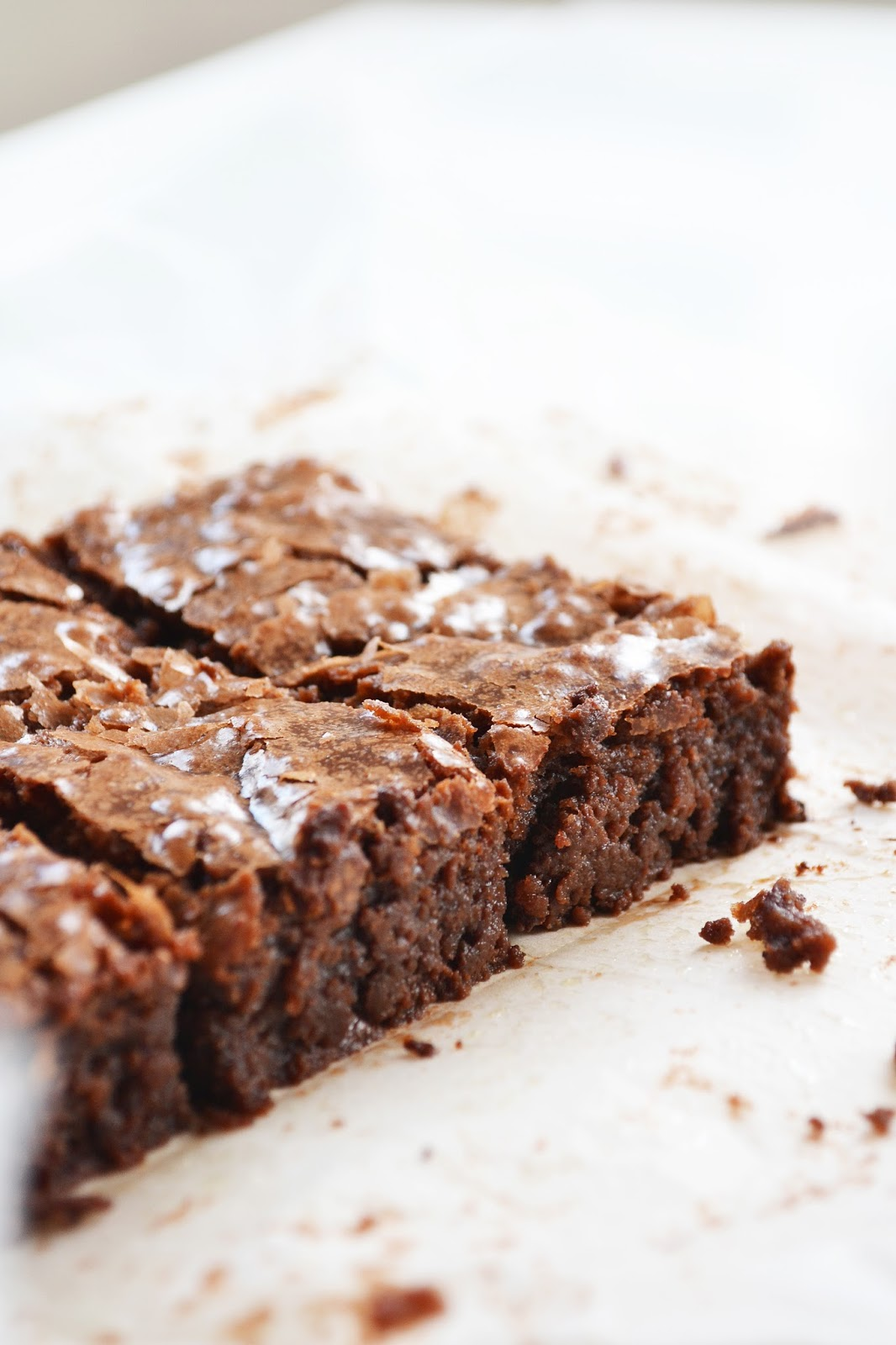 An easy recipe for chocolate brownies