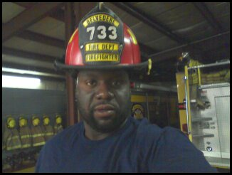 1st African-American Fire Captain, at Belvedere Fire Dept. (2011)