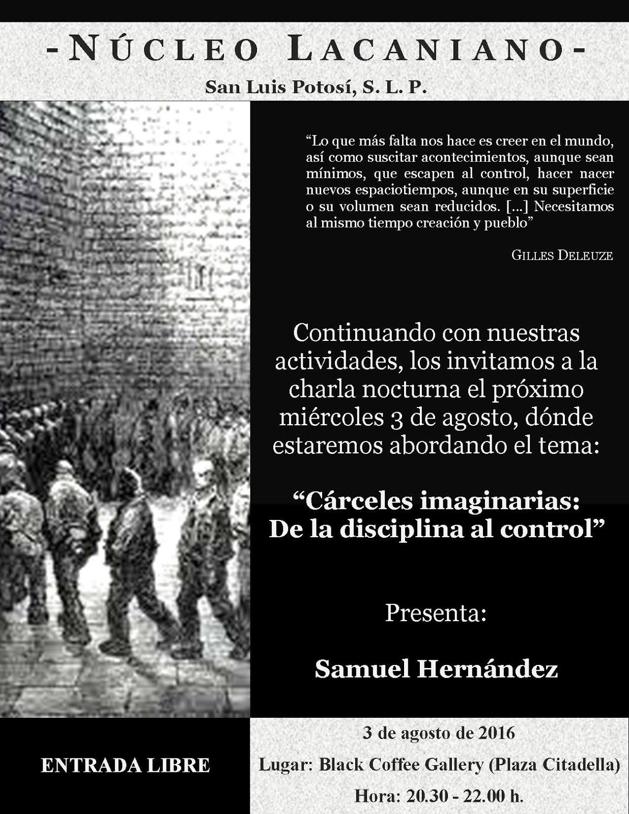 Cárceles imaginarias: De la disciplina al control