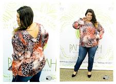 Ensaio Top PLus Size Pandorah Modas