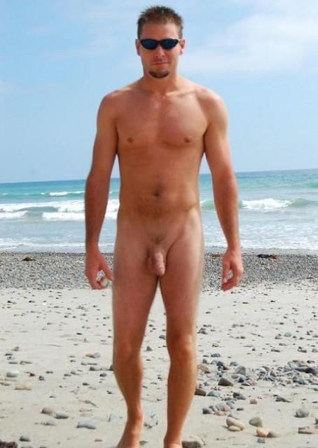 Haulover Beach Naked Man