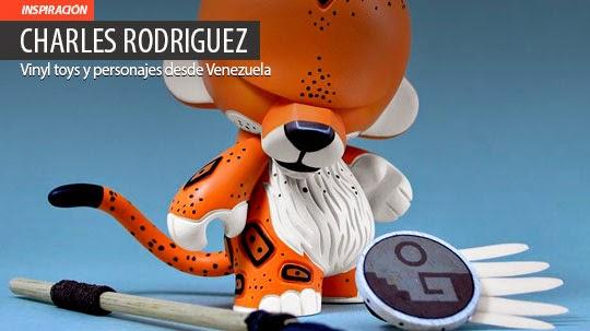 Vinyl toys y personajes de CHARLES RODRIGUEZ