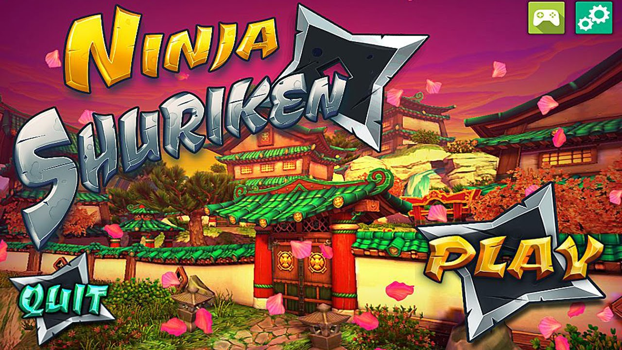 Ninja Shuriken Gameplay IOS / Android