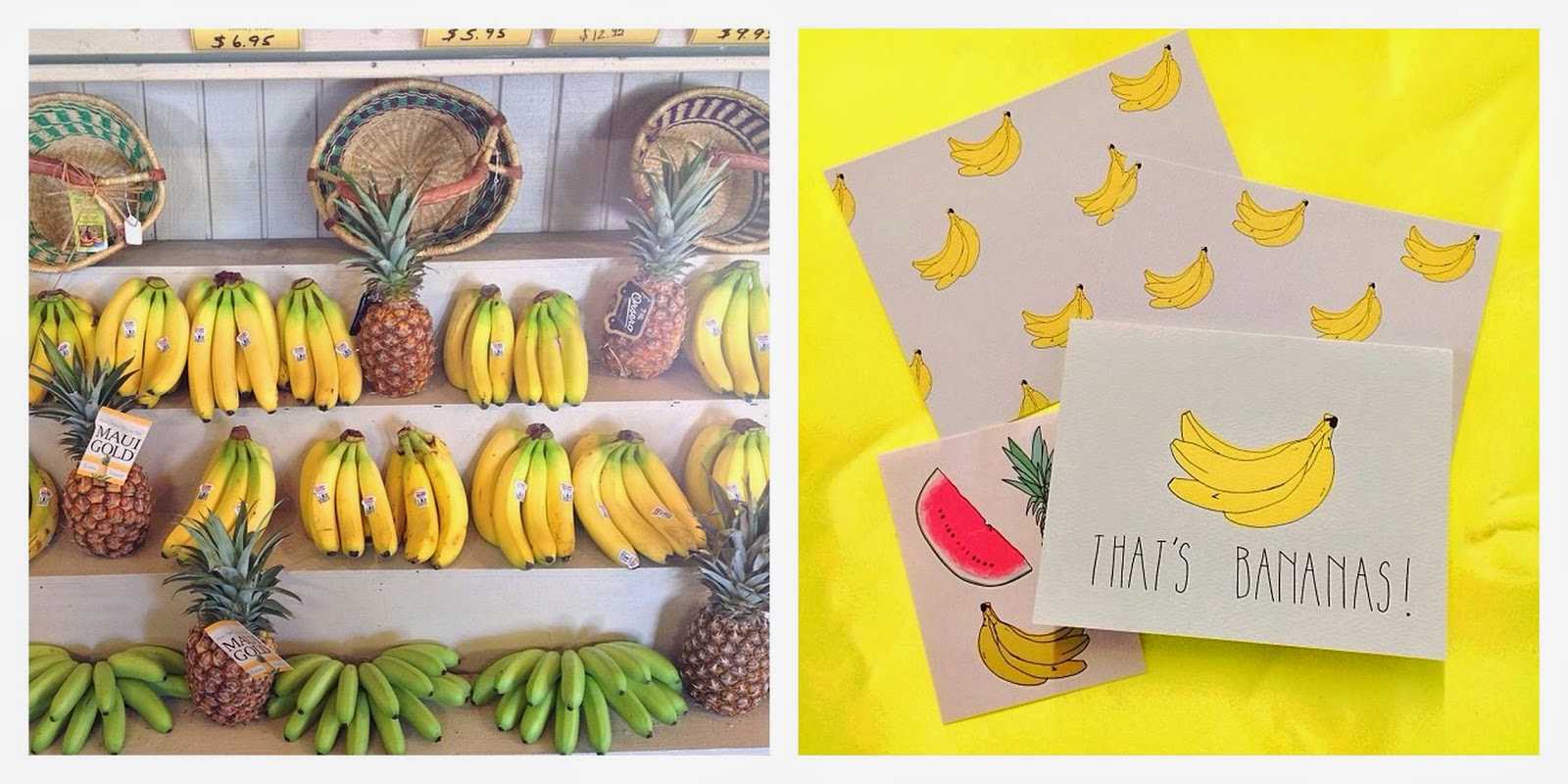 bananes,bananas,jaune,yellow,instagram