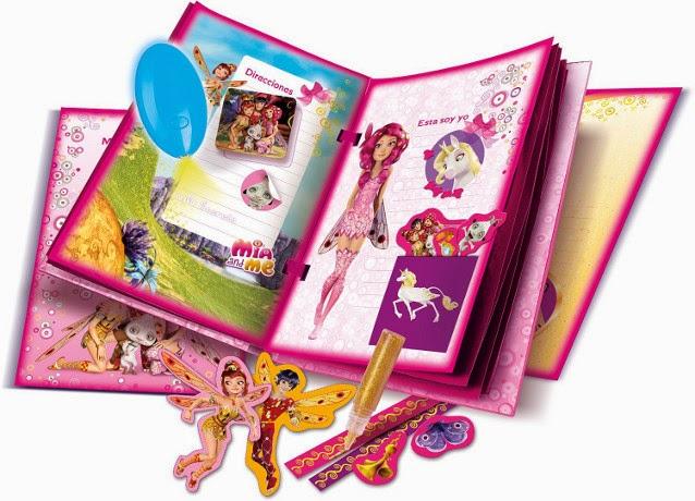 JUGUETES - MIA AND ME - Tu Diario Mágico | Mia y yo  Producto Oficial | Clementoni 55006 | A partir de 7 años