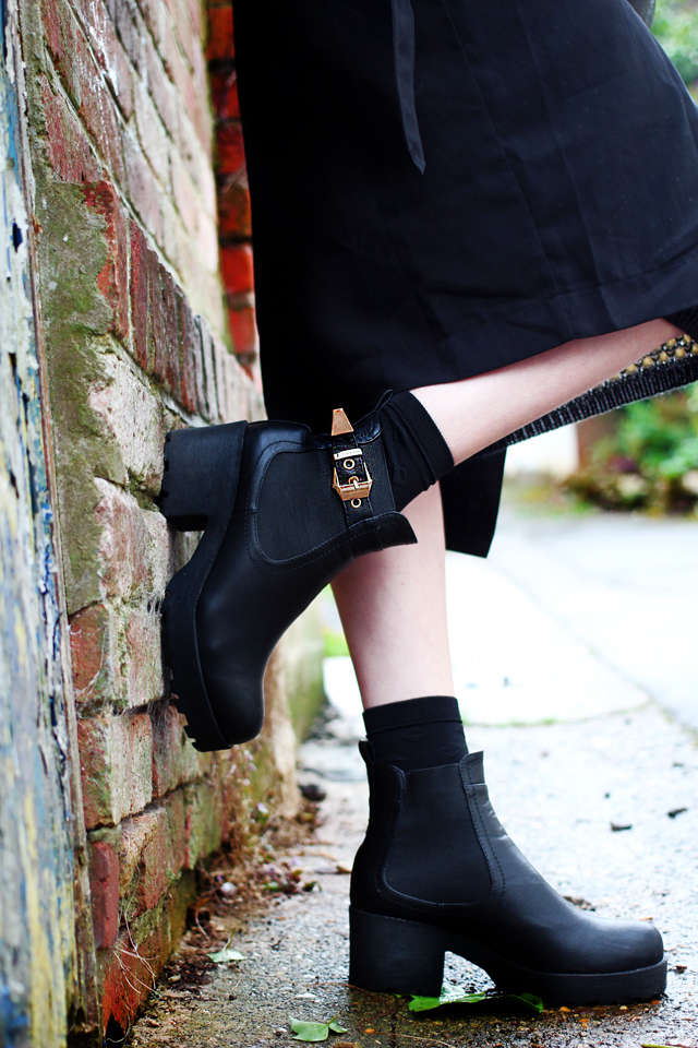 Missguided Black Ankle Boots