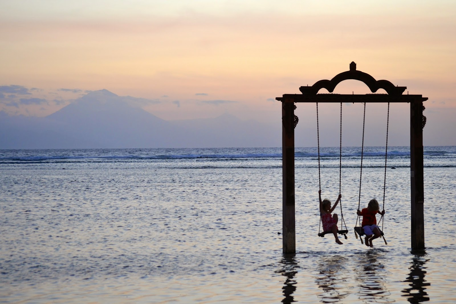 Sunset Bar en Gili Trawangan, Indonesia