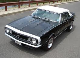 All About Muscle Car 1967 Camaro Ss Convertible