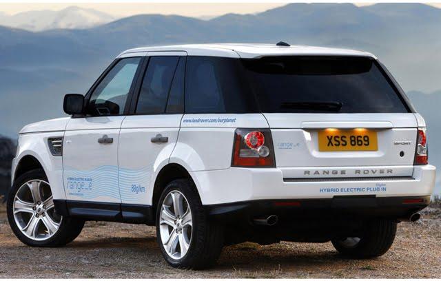 Land Rover Hybrid Electric Plug-in RANG_E