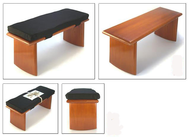 Madera arte muebles rusticos por miguel ruiz bancos for Banquetas de madera