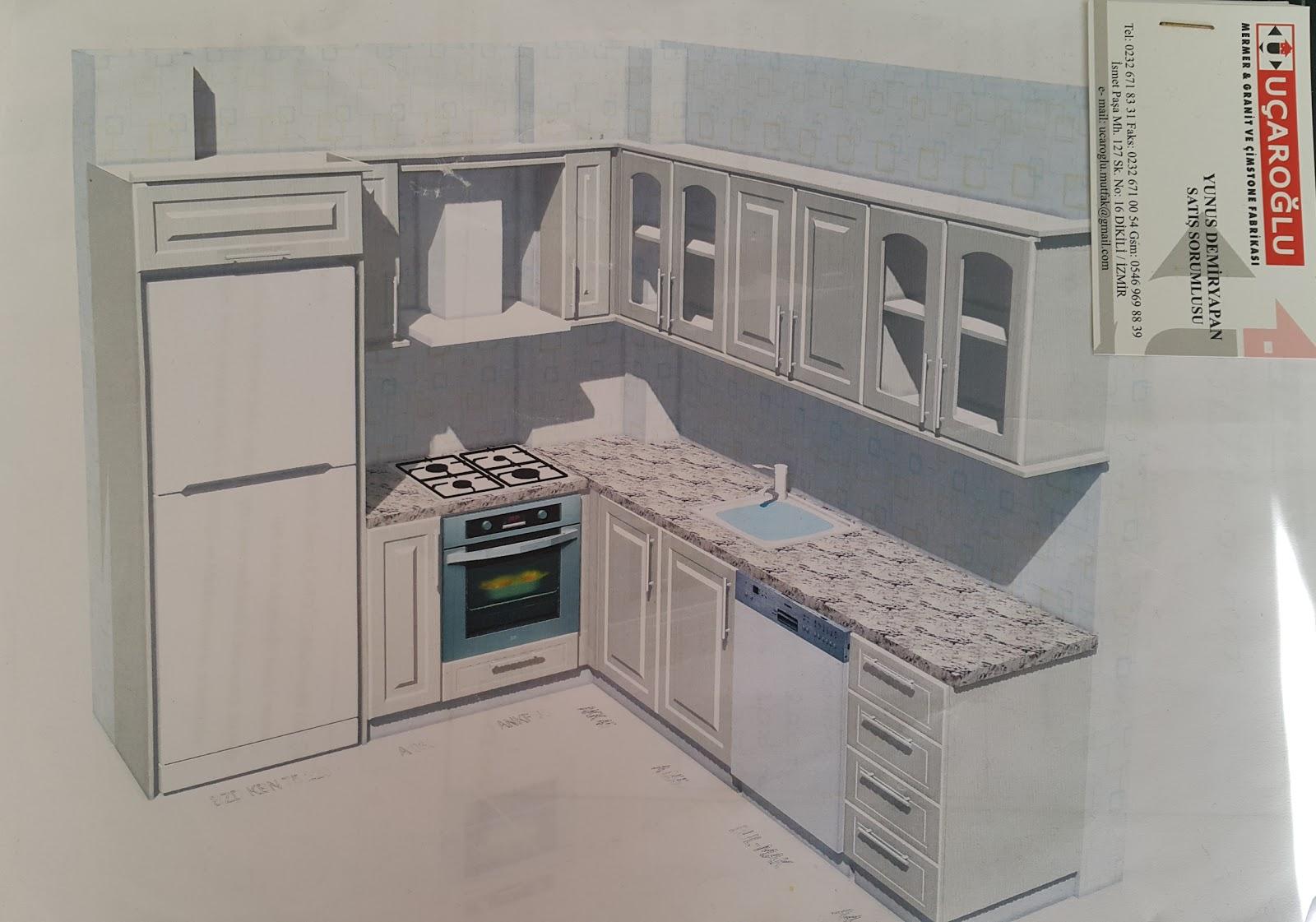 Mutfak Mermeri Nasıl Silinir