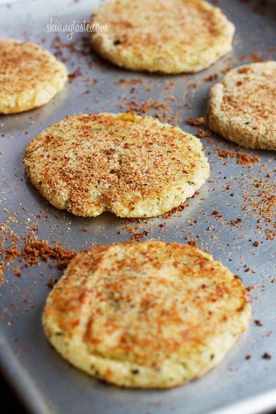 Leftover Parmesan Mashed Potato Patties | Skinnytaste