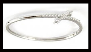 White Gold Bangle Designs Pictures