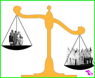 Wealthy Minority revenue Equals Majority Poor Loss
