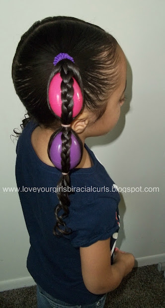 love girls biracial curls