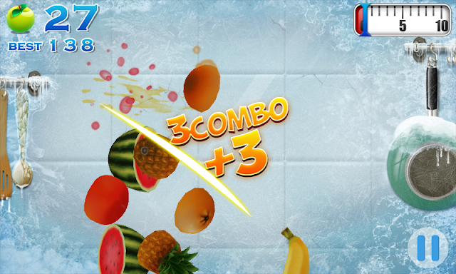 Fruit ninja windows game