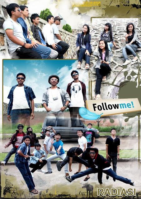 16x Edit foto dengan proses tumpuk foto dalam satu frame di photoshop