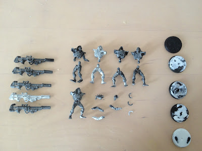 Games Workshop Warhammer 40k Necron deathmarks failed priming
