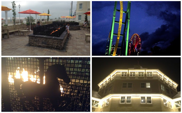 Night time at @CedarPoint Resorts Hotel Breakers #bloggingatCP