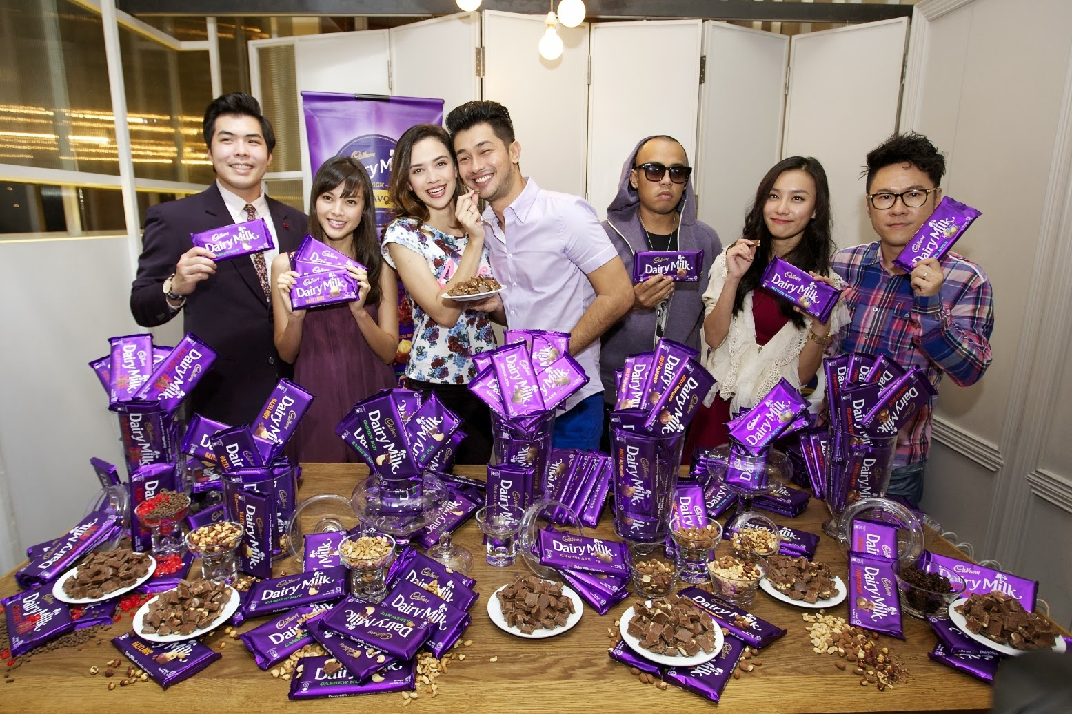 Pick Your Favourite Cadbury Dairy Milk Chocolate Ashley Yeen