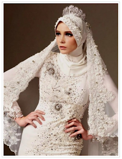 Trend Model Hijab Modern Pengantin Terbaik 2016