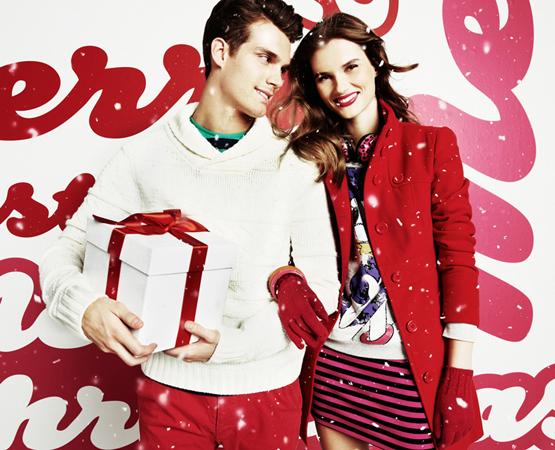 moda hombre Blanco catálogo navidad 2011