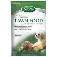 Scotts 4,000 sq. ft. Natural Lawn Food