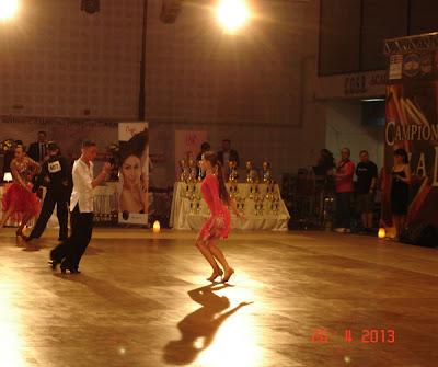 concursul de dansuri latino