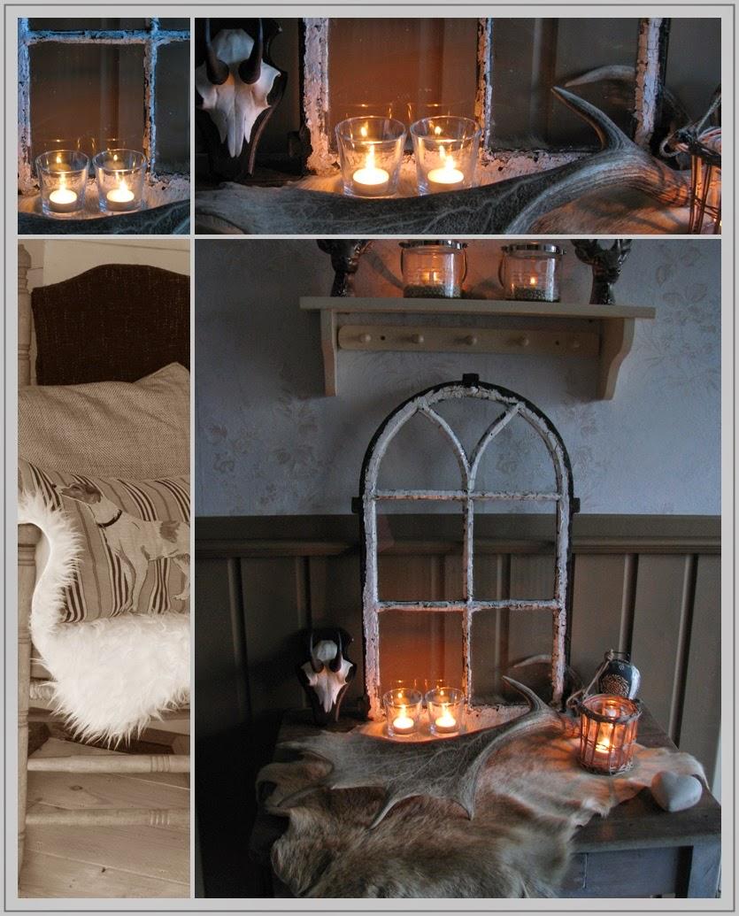 Achter de linden oude stalraampjes - Fotos decoratie ...