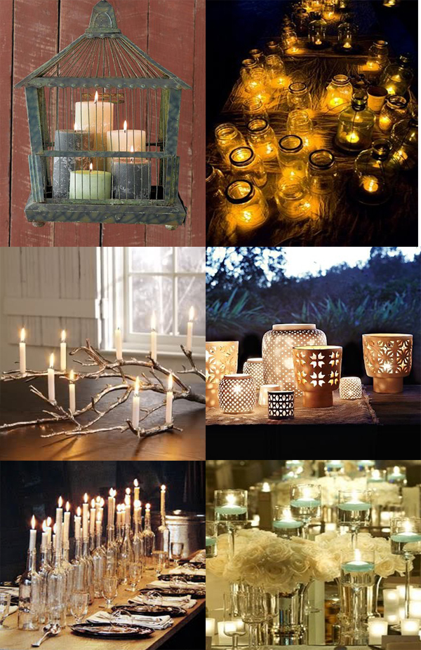 Ruche wedding wednesday creative lighting ideas