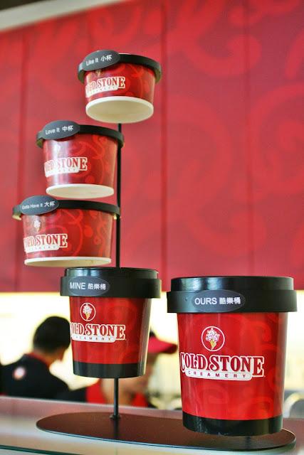 Cold Stone Creamery cups